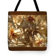 Dried Safflower Tote Bag