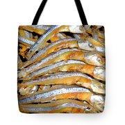 Dried Small Fish 3 Tote Bag