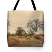Dried Up Watering Hole Tote Bag