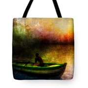 Drifting Into The Light Tote Bag