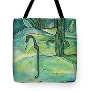 Drifting Seahorse Tote Bag