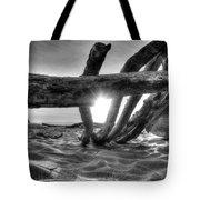 Driftwood B/w Tote Bag