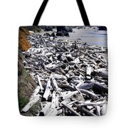 Driftwood By The Ton Tote Bag