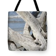 Driftwood Detail Tote Bag