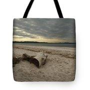 Driftwood On West Sands Tote Bag