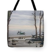 Driftwood Shrimper Tote Bag