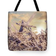 Driftwood Sunset Tote Bag