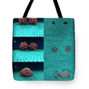 Drilling Of Graphene Nanoparticles Tote Bag