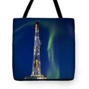 Drilling Rig Saskatchewan Tote Bag