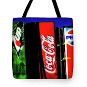 Drink Vending Machines Tote Bag