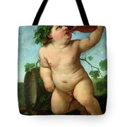 Drinking Bacchus Tote Bag