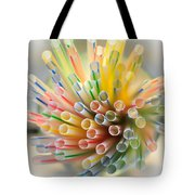 Drinking Straws  Tote Bag