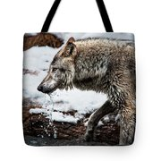 Drinking Wolf Tote Bag
