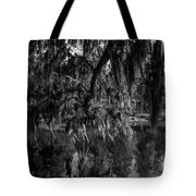 Drippin With Spanish Moss At Middleton Place Tote Bag