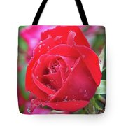 Dripping In Beauty - Double Knock Out Rose Tote Bag