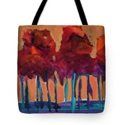 Dripping Tree #1 Tote Bag