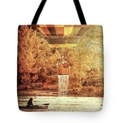 Dripping Wet  Hot Air Balloons Tote Bag