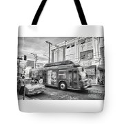 Drive-by Product Placement Tote Bag