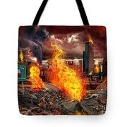 Drive Deadly  Tote Bag