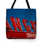 Drive In- California  Tote Bag