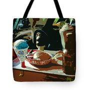 Drive In Tote Bag