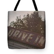 Drive In II Tote Bag