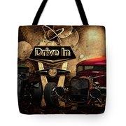 Drive In Tote Bag