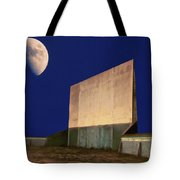 Drive-in Moon Tote Bag