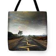 Drive Safely Tote Bag by Carlos Caetano