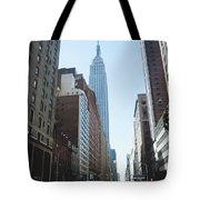 Drive Though The City  Tote Bag