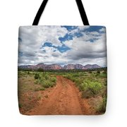 Drive To Loy Canyon, Sedona, Arizona Tote Bag