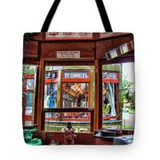 Driver St. Charles Trolley New Orleans Tote Bag