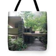 Driveway Fallingwater  Tote Bag