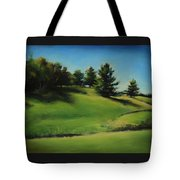 Driving By A Michigan Meadow Tote Bag