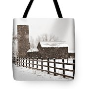 Driving Down Cherryvale Tote Bag
