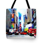 Driving Manhattan Tote Bag