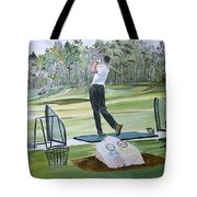 Driving Pine Hills Tote Bag
