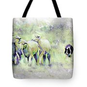 Driving Sheep Tote Bag