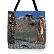 Droid Captures A Local Rebel Tote Bag