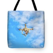 Drone On The Air Tote Bag