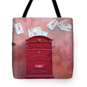 Drop Me A Letter Mr. Postman Tote Bag