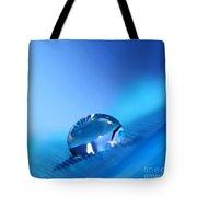 Drop Of Blue Tote Bag
