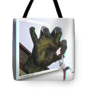 Drop Out - Use Red-cyan 3d Glasses Tote Bag