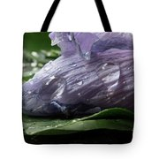 Droplets Of Nature Tote Bag