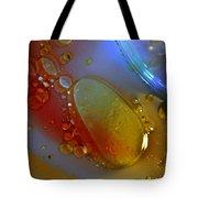 Drops And Rainbow Tote Bag