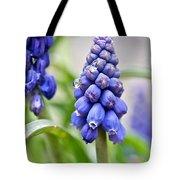 Drops Met Hyacinth Tote Bag