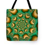 Drops Of Gold Tote Bag