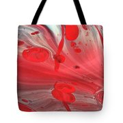 Drops Of Red Tote Bag