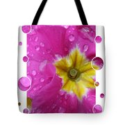 Drops Upon Raindrops 5 Tote Bag