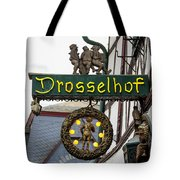 Drosselhof Neon Sign Tote Bag